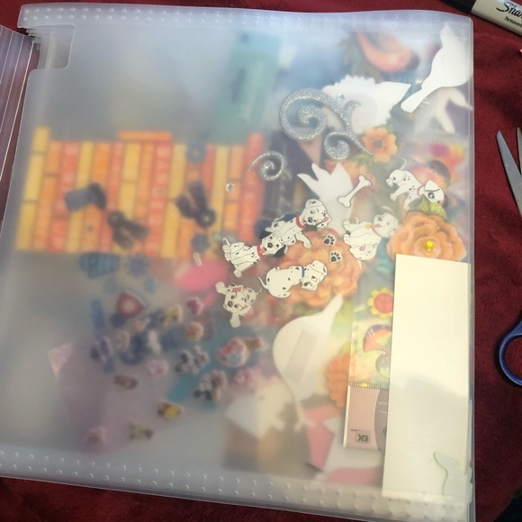 Large Scrapbooking lot- preowned